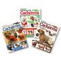 Kit - 3 Revistas Moda Pet Tecido - Roupa Cachorro Cães
