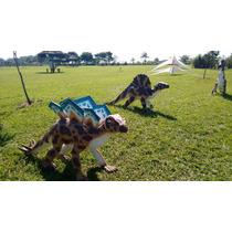 Festa Escultura Dinossauro Em Fibra Locação E Venda