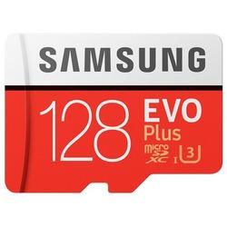 Memoria Micro Sd Samsung Evo Plus 128 Gb U3 4k- 100 Mb/s