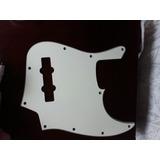 Pickguard Fender Jazz Bass Cream White