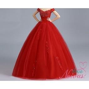 Vestido De Debutante/madrinha Vermelho Pronta Entrega
