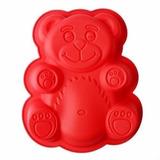 Forma De Bolo De Silicone Em Formato De Urso Lanche Doce