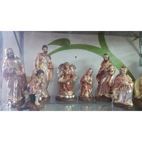Nacimiento Navideño Pintado A Mano (7 Figuras)