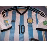 Camiseta Seleccionargentina 2014 adidas Arg-alemania-parches