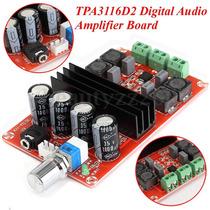 Kit Placa Montada Amplificador Estéreo 200w - 100w+100w Rms