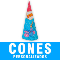 Cones Guloseima Lembrancinha Aniversario Personalizado Festa
