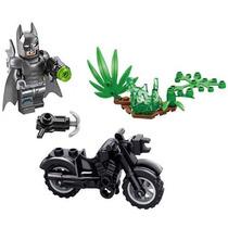 Batman Kit C/ Moto Minifigures Lego Compativel Batmoto Ak04