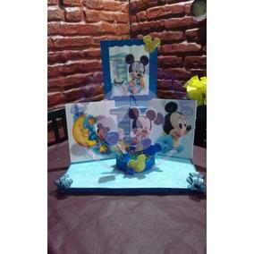 Combo 6 Centros De Mesas + Maqueta Present Souvenirs
