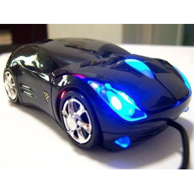 Mouse Optico 3d En Forma De Carro