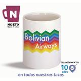 Bolivian Airways Boliviana De Aviación Taza Unica