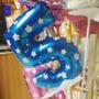 Globos Metalizados De Números Azul Y Rosa 40cm