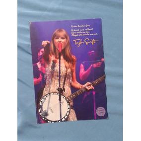 Pôster Pocket Show Taylor Swift - Rj, 2012