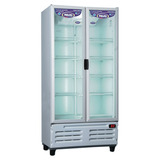 Exhibidora Inelro Vertical Mt750 Doble Puerta
