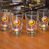 Copo De Vidro Para Cerveja Caldereta Skol P/ Home Bar+brinde