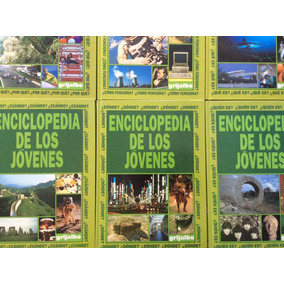 Enciclopedia De Los Jóvenes Editorial Grijalbo 6 Libros $450