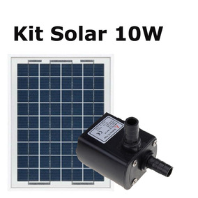 Bomba De Agua Solar Kit Completo 10w