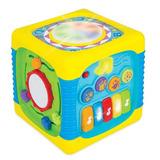 Cubo Musical Y Didáctica Para Bebé