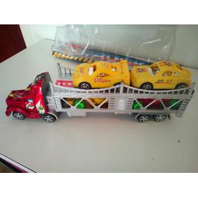 Camion Gandola Juguete Plastico Para Niños