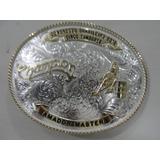 a2c8ff45414ef Fivela Montana Silversmiths Cinco Tambores Amador Master