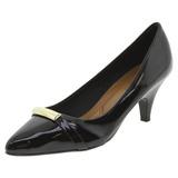 Sapato Feminino Salto Baixo Preto Pietra Fernandes - 31012