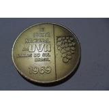 Medalha Comemorativa A Xi Festa Da Uva-1969