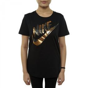 2c0751396 Camiseta Nike Nsw Top Ss Feminina 939352-010 - P - Preto