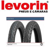 Pneu Dianteiro Levorin Matrix 60/100-17 Biz100/125/pop/win