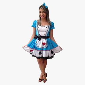 Fantasia Vestido Alice Adulto
