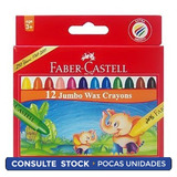 Crayolas Grueso Jumbo X12+3 Faber.castel Districomp