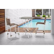 Moveis Em Aluminio E Fibra Sintetica,caderas,mesas,sofas,etc