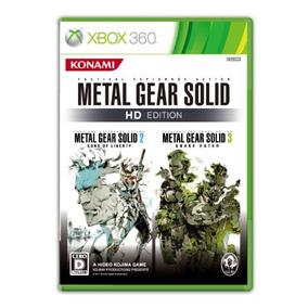 Metal Gear Solid Hd Edition Importación De Japón