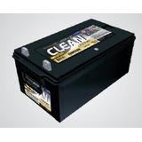Bateria Moura Clean 12mf220 Panel Solar Nautica Ciclo Profun