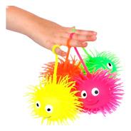 Squishy Ojos Saltarin Luminoso Puffer Ball Kawaii Colores