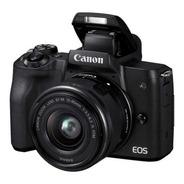 Camara Canon Eos M50 15-45mm 24 Megapixeles 4k