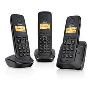 Telefono Inalambrico Gigaset A120 Trio Black