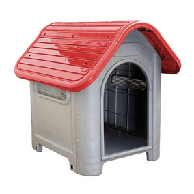 Casa Plástica P/ Cães Mec Pet Nº 3 Vermelho - Frete Grátis