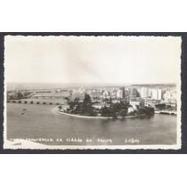Postal Antigo Vista Panorâmica Da Cidade Do Recife