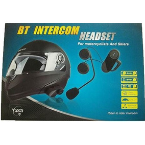 Intercomunicador Bluetooth Moto Capacete 1 Central 800 Mts