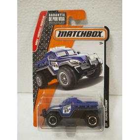 Matchbox Camioneta Policia Police Road Raider Azul 69/120
