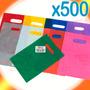 Bolsas Riñón Regalo Color Lisas 20x30 A/d X 500 Unidades