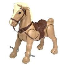 Caballito Juguete Montable Mustang Avanza Con El Movimiento