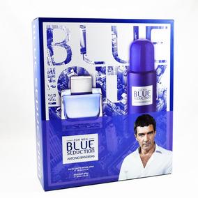 Set Blue Seduction 2 Pzs 100 Ml Eau De Toilette Spray + Deso