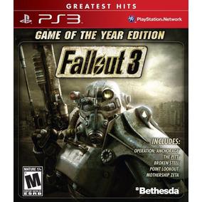 Fallout 3 Game Of The Year Edition Ps3 Físico Nuevo Sellado