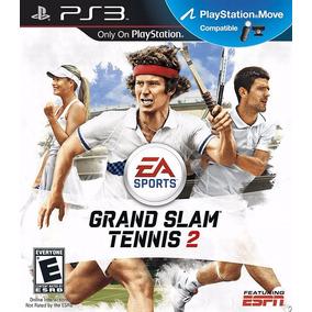 Jogo Semi Novo Grand Slam Tennis 2 Da Ea Sports Ps3
