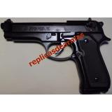 Pistola Beretta 92 Pavon De Fogueo Por Cañon 9 Mm