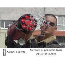 Película De Seguridad P/cristales 7.8mil Reflectiv®