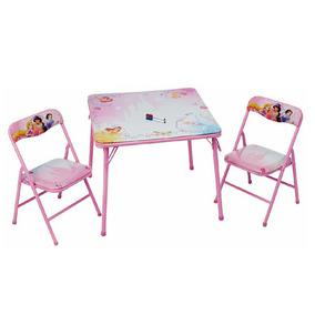 mesa princesas nia pizarrn disney