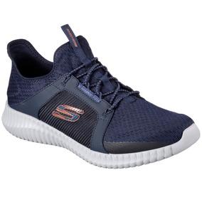Zapatillas Skechers Elite Flex Hombre Entrenamiento Imported