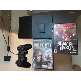 Ps2 Playstation 2 Slim Bloqueado Americano Controle Ótimo