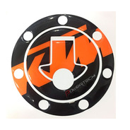 Calco Sticker Protector Cubre Tapa Tanque Ktm Duke 200 390